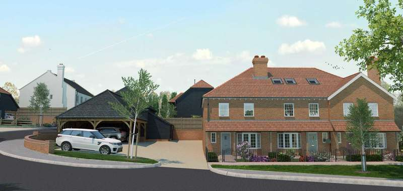 3 Bedrooms End Of Terrace House for sale in Plot 3 Thornhill Gardens, Bapchild