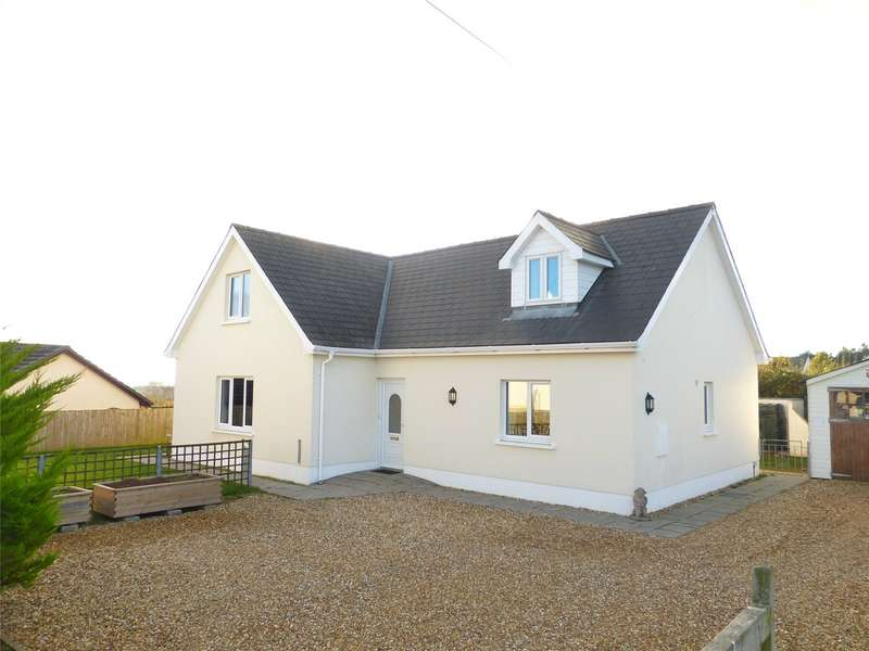 4 Bedrooms Detached Bungalow for sale in Highgate, Templeton, Narberth, Pembrokeshire