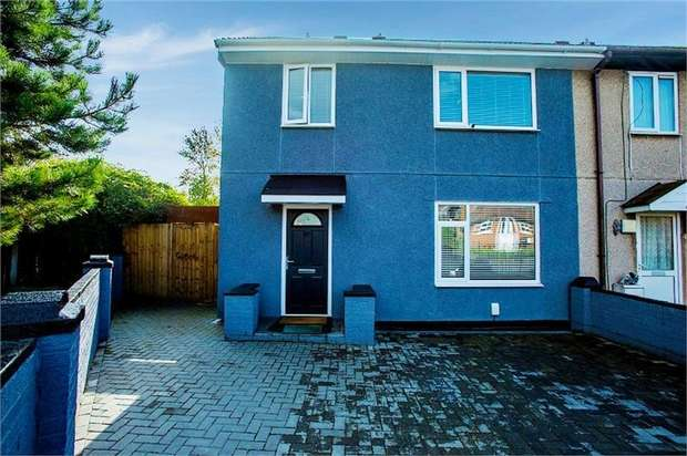 3 Bedrooms Semi Detached House for sale in Cunningham Road, Widnes, Cheshire