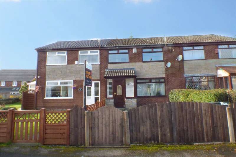 3 Bedrooms Terraced House for sale in Lynwood Drive, Greenacres, Oldham, Greater Manchester, OL4