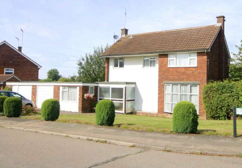 4 Bedrooms Detached House for sale in DETACHED 4 BED WITH 2 GARAGES IN POPULAR LEVERSTOCK GREEN SITUATION