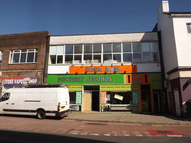 Retail Property (high Street) Commercial for sale in 98 - 102, Church Street, Stoke, Stoke-On-Trent, Staffordshire