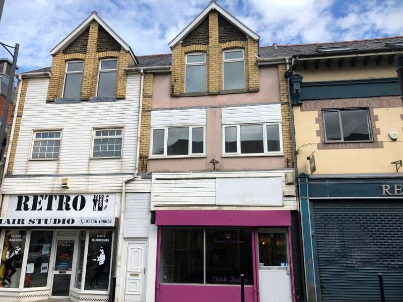 2 Bedrooms Mixed Use Commercial for sale in 8 Hanbury Road, Bargoed, Caerphilly