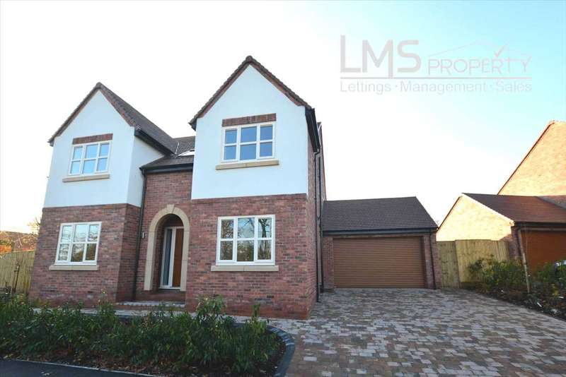 4 Bedrooms Detached House for sale in Pear Tree Orchard, Westbrook Road, Kingsley