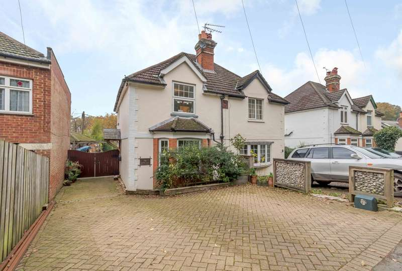 2 Bedrooms Semi Detached House for sale in Pirbright Road, Normandy, Guildford, GU3