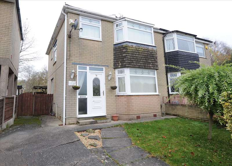 3 Bedrooms Semi Detached House for sale in 78 Riverside Avenue,Irlam M44 6DR