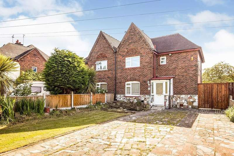 3 Bedrooms Semi Detached House for sale in Cliveden Road, Chester, CH4
