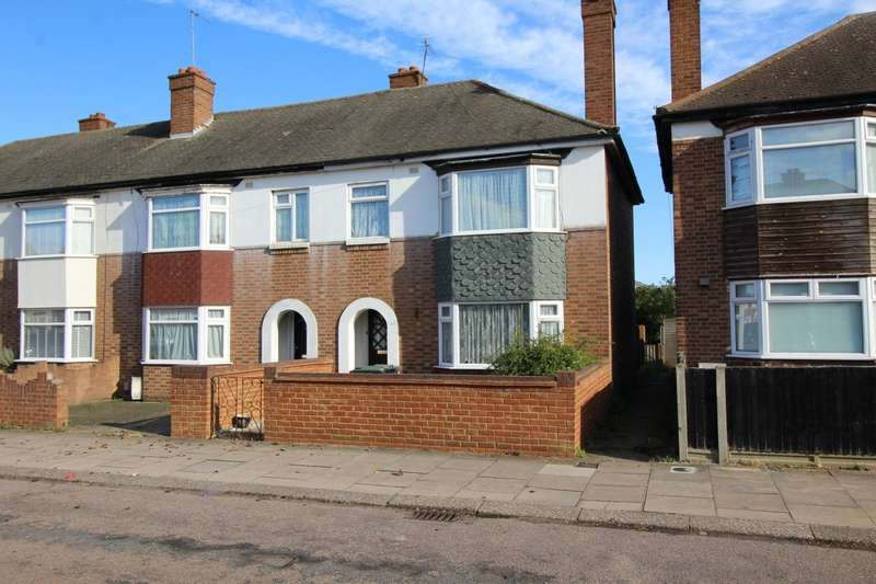 3 Bedrooms End Of Terrace House for sale in Broad Avenue, Bedford, Bedfordshire, MK42