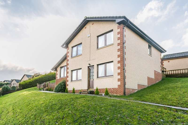 3 Bedrooms Detached House for sale in Catrail Road, Galashiels, TD1