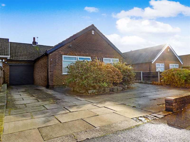 3 Bedrooms Detached Bungalow for sale in Buckley Drive, Romiley, Stockport