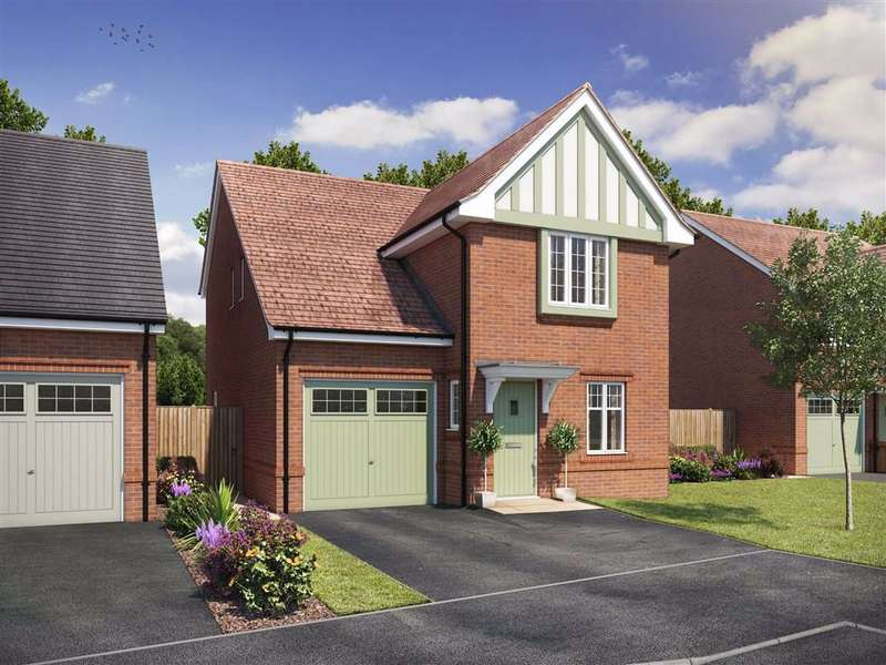 3 Bedrooms Detached House for sale in Silk Rose Place, Macclesfield