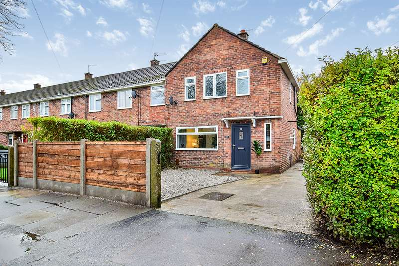 2 Bedrooms End Of Terrace House for sale in Helsby Road, Sale, Greater Manchester, M33