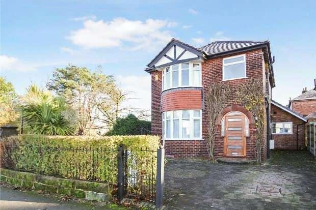 3 Bedrooms Detached House for sale in Queen's Road, Hale