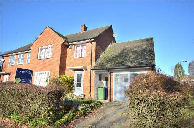 4 Bedrooms Semi Detached House for sale in Saffron Road, Bracknell, Berkshire