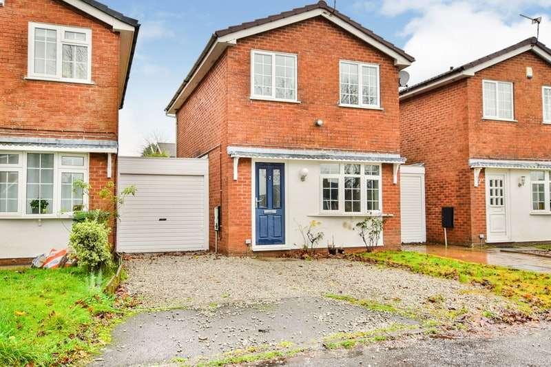 2 Bedrooms Link Detached House for sale in Carnoustie Close, Wilmslow, Cheshire, SK9