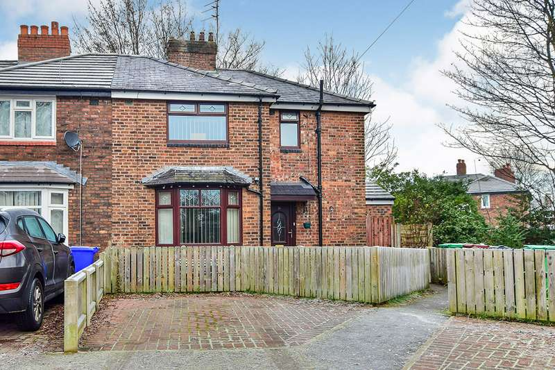 3 Bedrooms Semi Detached House for sale in Redcroft Gardens, Manchester Burnage, Greater Manchester, M19