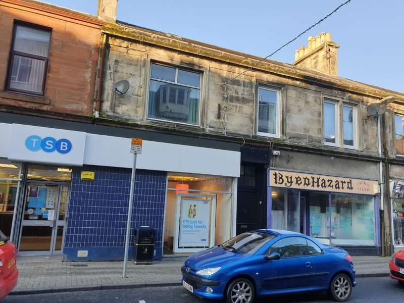 2 Bedrooms Maisonette Flat for sale in 62A, Dalrymple Street, Girvan, South Ayrshire