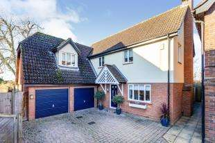 4 Bedrooms Detached House for sale in Caysers Croft, East Peckham, Tonbridge, Kent