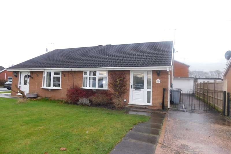 2 Bedrooms Semi Detached Bungalow for sale in Hurn Close, Crewe, CW1