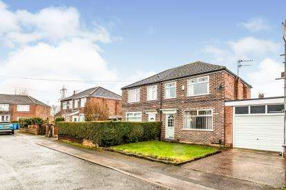 3 Bedrooms Semi Detached House for sale in Redesmere Park, Urmston, Manchester, Greater Manchester