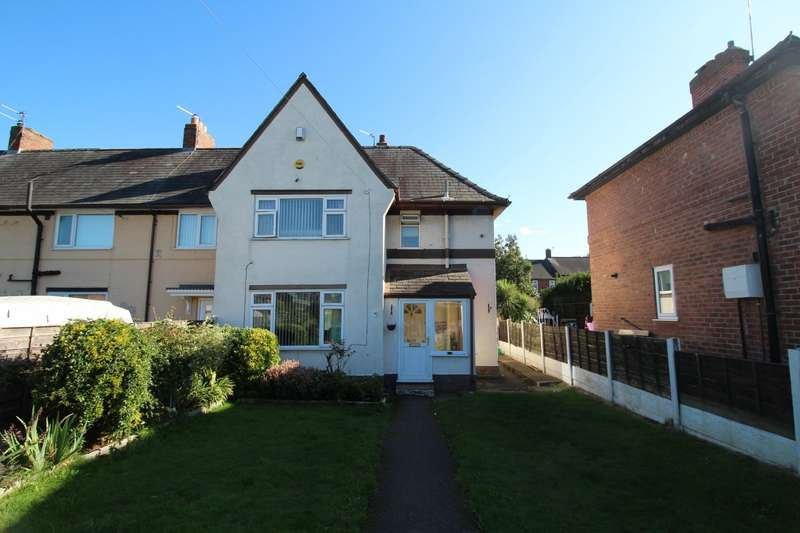 3 Bedrooms Semi Detached House for sale in Tranby Close, Manchester, M22
