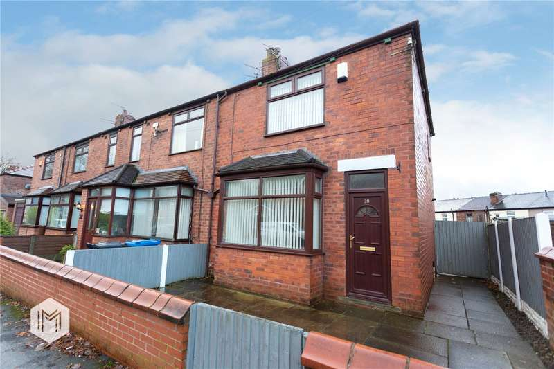2 Bedrooms End Of Terrace House for sale in Neville Street, Platt Bridge, Wigan, Greater Manchester, WN2