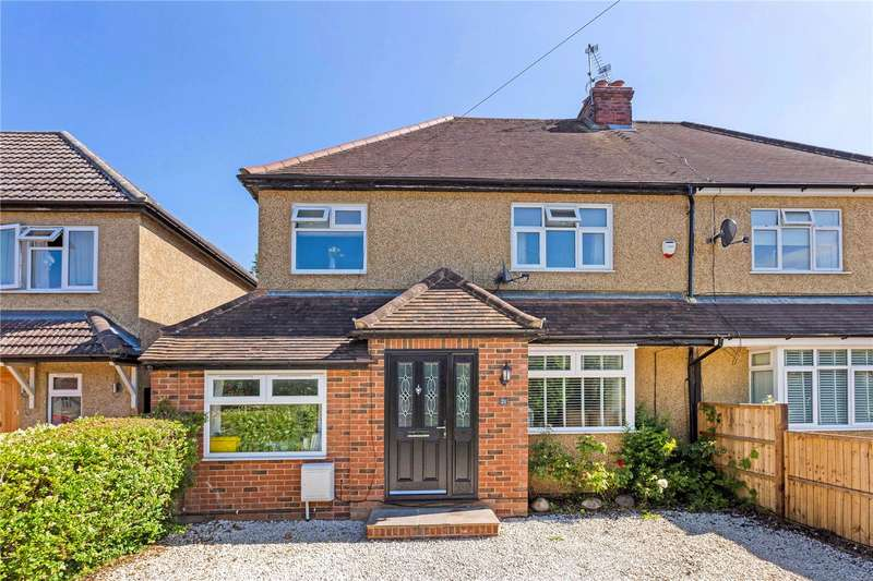 4 Bedrooms Semi Detached House for sale in New Road, Holyport, Maidenhead, Berkshire, SL6