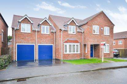 5 Bedrooms Detached House for sale in Tom Stimpson Way, Sutton-In-Ashfield, Nottinghamshire, Notts