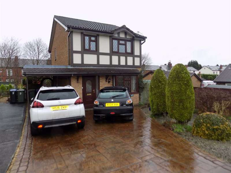 3 Bedrooms Detached House for sale in Lombard Close, Bredbury, Stockport