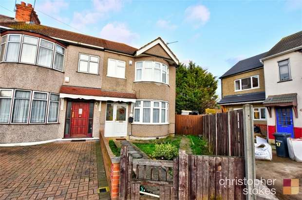 3 Bedrooms End Of Terrace House for sale in Cedar Avenue, Waltham Cross, Hertfordshire