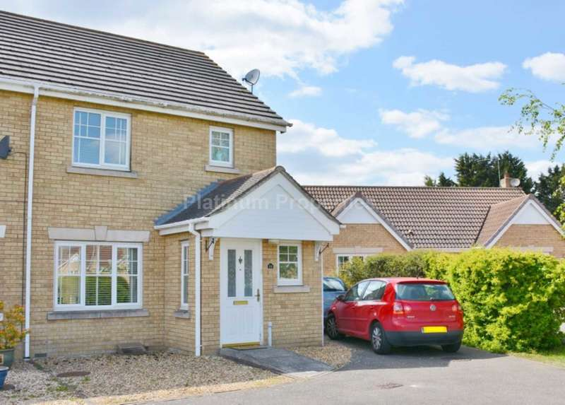 3 Bedrooms Semi Detached House for rent in Meadow Way, Mepal