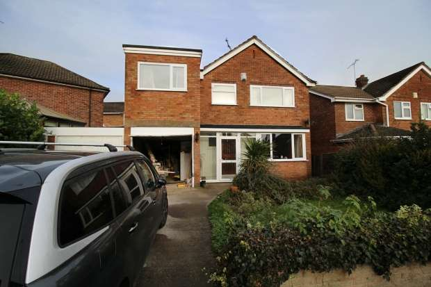 4 Bedrooms Detached House for sale in Abbey Road, Leicester, Leicestershire, LE19 2DA