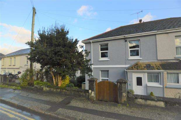 4 Bedrooms Semi Detached House for sale in Rose Hill, St. Blazey, Par, Cornwall