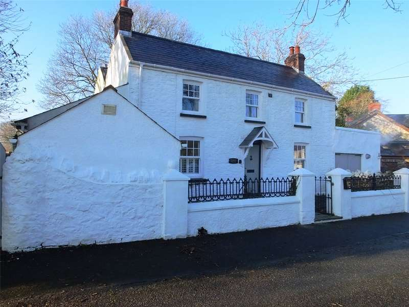4 Bedrooms Detached House for sale in Stoneleigh, Crosslanes, Kilgetty, Pembrokeshire