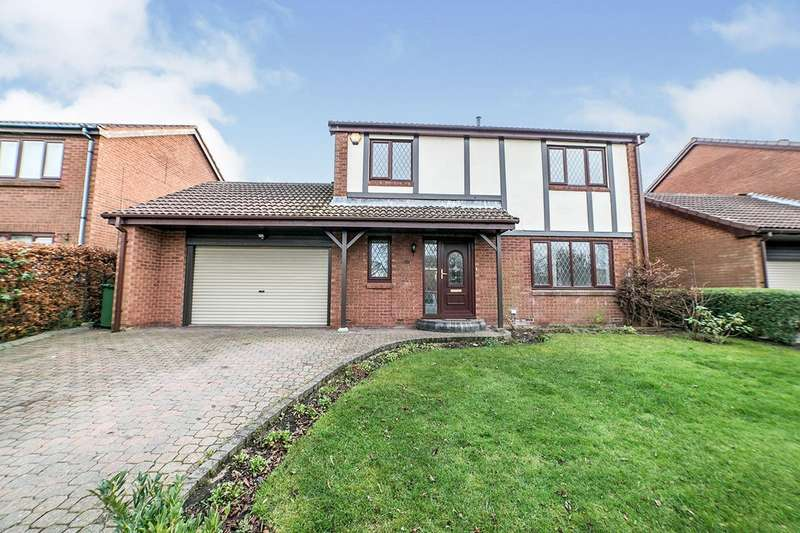 4 Bedrooms Detached House for sale in Mullen Drive, Ryton, NE40