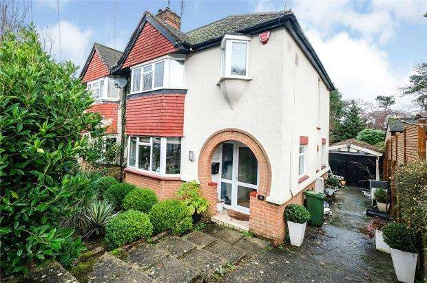 3 Bedrooms Semi Detached House for sale in Pinewood Avenue, Sevenoaks, Kent