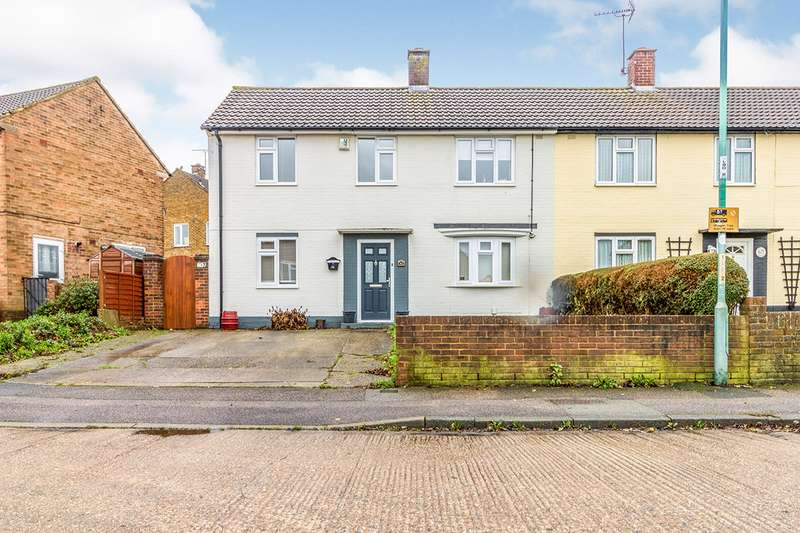 3 Bedrooms Semi Detached House for sale in Littlebourne Avenue, Gillingham, Kent, ME8