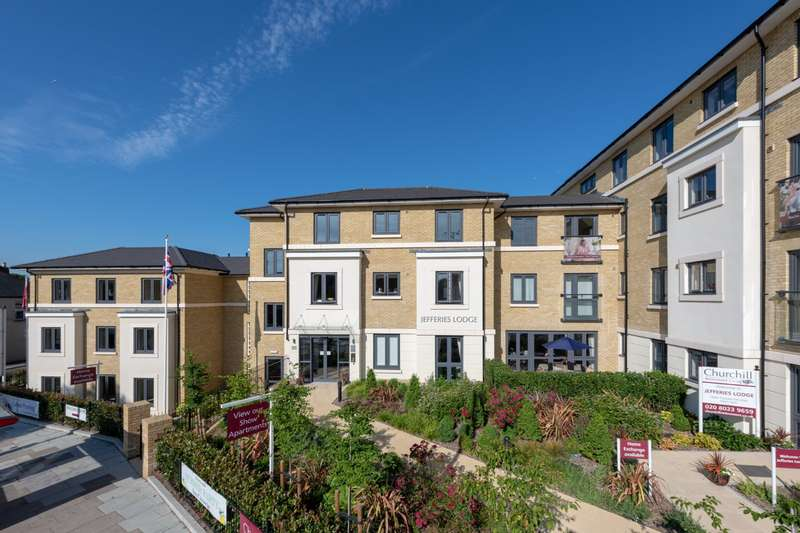 1 Bedroom Apartment Flat for sale in Jefferies Lodge, 48-60 Footscray Road, London, SE9