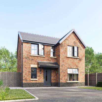 4 Bedrooms Detached House for sale in Eleanor Gardens, Land Adjacent To 73 & 108, Statham Road, Bidston, CH43