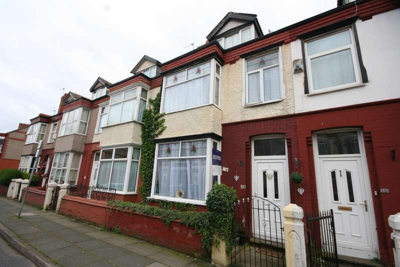 4 Bedrooms House for sale in Edinburgh Road, Wallasey, CH45 4LR