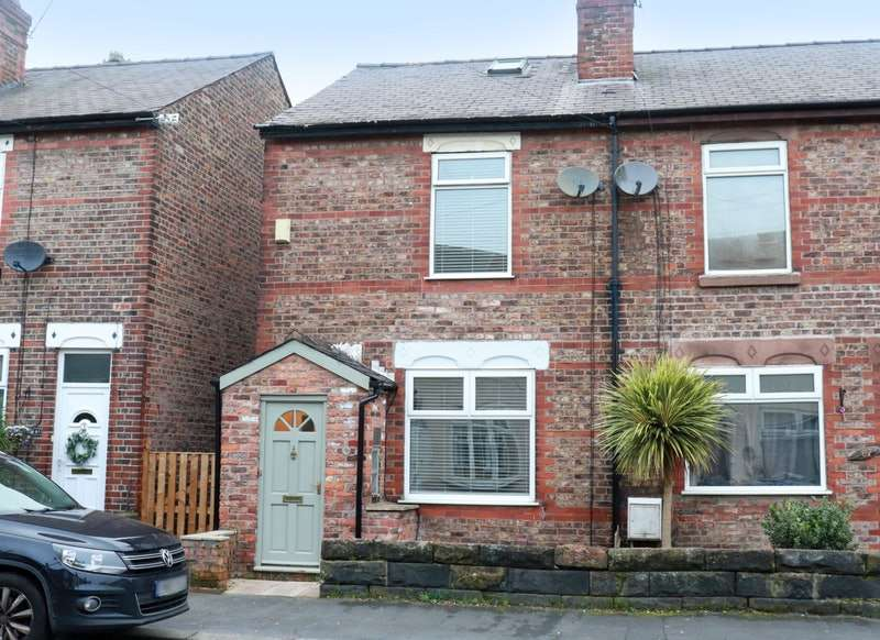 3 Bedrooms End Of Terrace House for sale in Brunswick Road, Altrincham, Greater Manchester, WA14