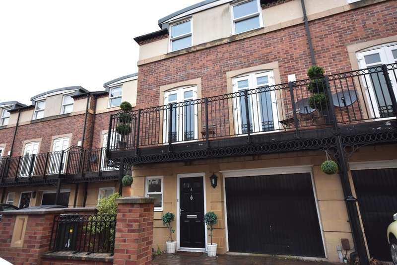 4 Bedrooms Town House for rent in Grove Park Avenue, Gosforth