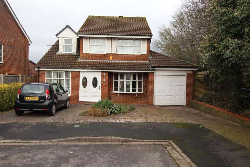 4 Bedrooms Detached House for sale in Emmett Wood, Whitchurch, Bristol, BS14 0JG