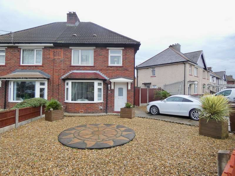 3 Bedrooms Semi Detached House for sale in Derby Road, Warrington, Greater Manchester, WA3
