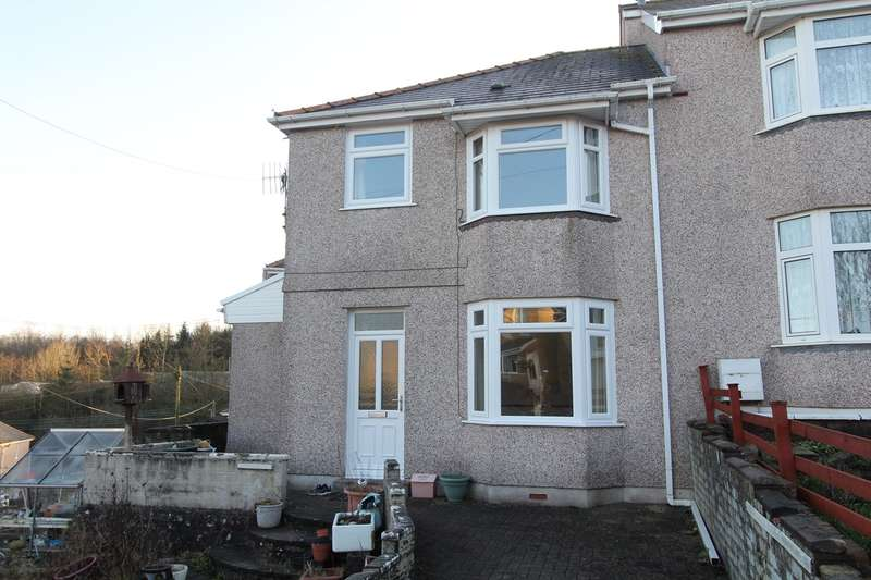 3 Bedrooms Semi Detached House for sale in Alandale Road, Rassau, Ebbw Vale, NP23