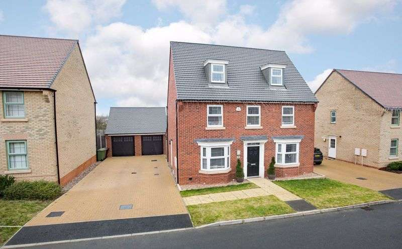 5 Bedrooms Property for sale in Harrier Close, Priors Hall
