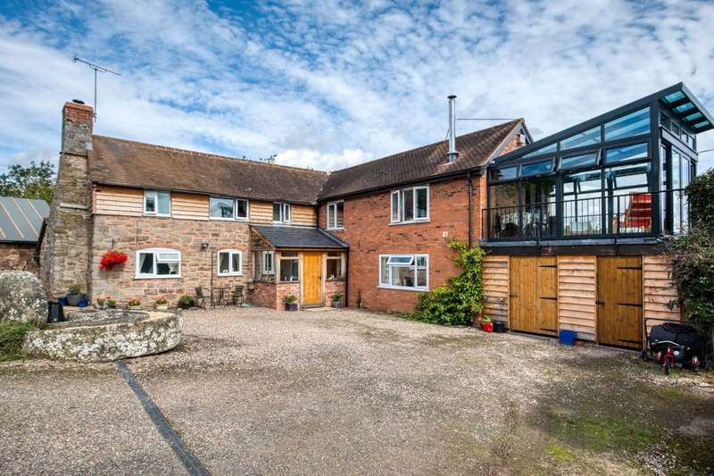 4 Bedrooms Detached House for sale in Bringsty Common, Worcestershire, Herefordshire, WR6