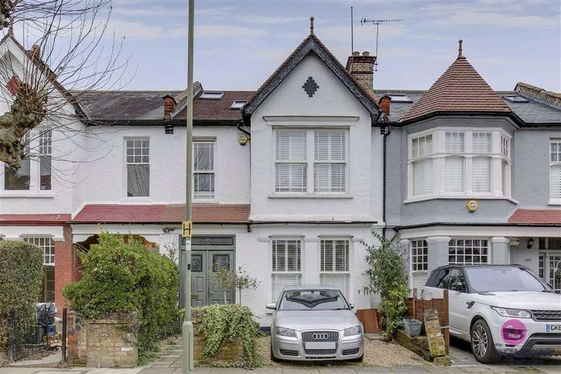 4 Bedrooms Terraced House for sale in Etchingham Park Road, Finchley, London, N3