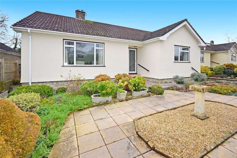 3 Bedrooms Detached Bungalow for sale in Springfield Drive, Wedmore, Somerset, BS28