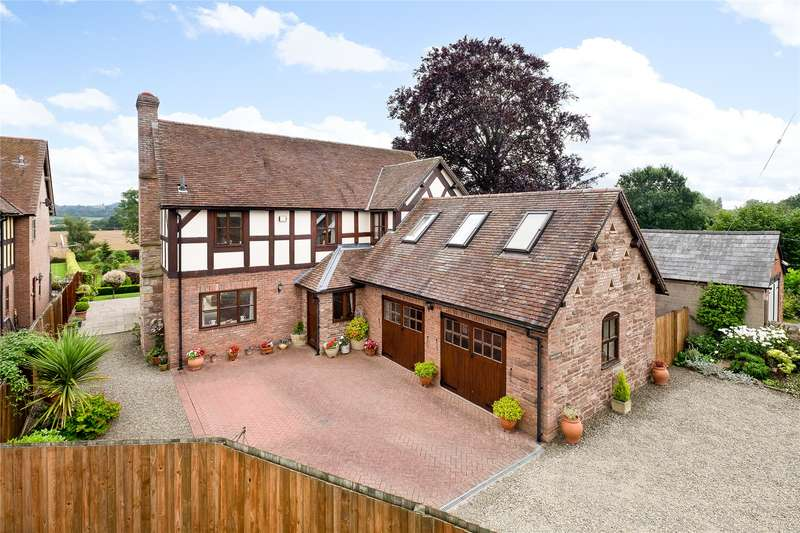 4 Bedrooms Detached House for sale in Luston, Leominster, HR6